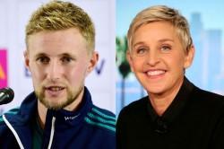 England Captain Joe Root Reveals Ellen Degeneres Sledges