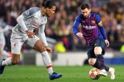 Virgil Van Dijk Lionel Messi Sergio Aguero