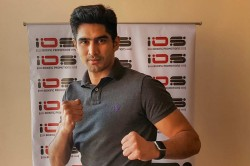 Vijender Singh Hopes To Resume Boxing In The Latter Part Of