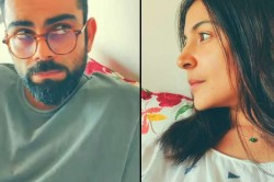 Lockdown Days Virat Kohli S Wife Anushka Sharma Urges India Cricketer To Hit A Four In Funny Video