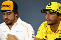 Carlos Sainz Jr Fernando Alonso Formula One Return
