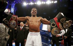 Joshua Has No Problem Signing Now To Fight Fury Twice Next Year Says Hearn
