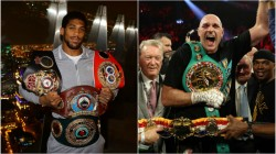 Anthony Joshua Tyson Fury Is Just Another Opponent