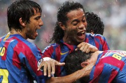On This Day In Sport Barcelona Inflict Arsenal Pain Ferguson Wins First United Trophy