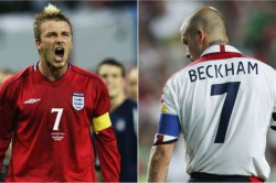 David Beckham At 45 Man Utd And England Great S Highs And Lows