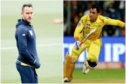 No One Can Emulate What Ms Dhoni Has Achieved As A Finisher Faf Du Plessis
