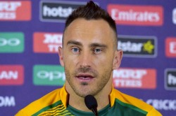 Not Captain Anymore Faf Now Has More Time To Help Young Batters Van Der Dussen