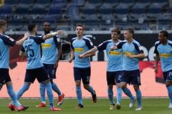 Eintracht Frankfurt 1 3 Borussia Monchengladbach Plea Thuram Star As Visitors Go Third