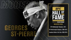 Georges St Pierre Inducted To Ufc Hall Of Fame Class Of
