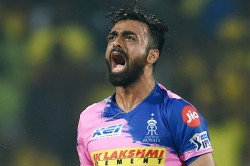 Sweat And Saliva Aren T Big Requirements In White Ball Cricket Feels Jaydev Unadkat