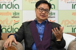 Standard Operating Procedure To Be Followed By Athletes Coaches At Training Being Drawn Up Rijiju