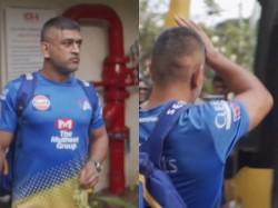 Ipl Chennai Super Kings Shares Throwback Video Of Ms Dhoni