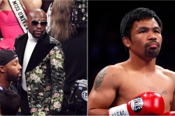 Manny Pacquiao Claims Floyd Mayweather Jr Envious