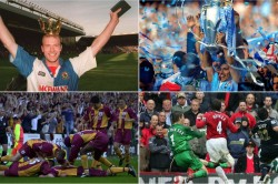 Sergio Aguero Blackburn Rovers Oldham Athletic Great Escape Best Premier League Final Days