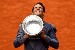 Rafael Nadal F1 Team Roland Garros French Open Henri Leconte