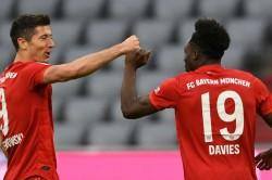 Bayern Munich 5 0 Fortuna Dusseldorf Champions Move 10 Points Clear