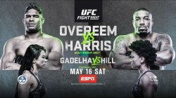 Ufc Fight Night Overeem Vs Harris Fight Card Date Start Time Where To Watch