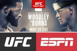 Live Sports Return To Las Vegas With Ufc Fight Night Woodley Vs Burns