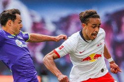 Rb Leipzig 1 1 Freiburg Poulsen Rescues Point As Hosts Suffer Title Race Setback