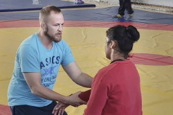 Wfi Set To Terminate Women S Wrestling Coach Andrew Cook Over Salary Row
