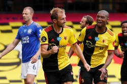 Watford 1 1 Leicester City Late Dawson Chilwell Stunners See Spoils Shared