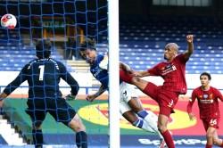 Everton Big Chance Dominic Calvert Lewin Merseyside Derby Liverpool Premier League