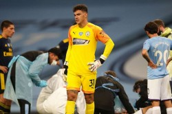 Ederson Apologised To Man City Team Mate Garcia After Horror Clash