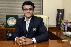 Icc Chairman Election Sourav Ganguly Lone Runner After Ehsan Mani Pulls Out