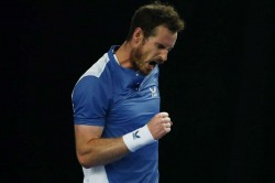 Andy Murray Battle Of The Brits Exhibition Event Opening Win Liam Broady Return From Injury