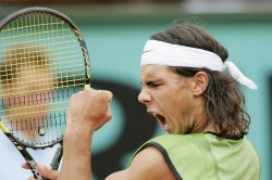 Rafael Nadal Wins First Grand Slam Title French Open Mariano Puerta