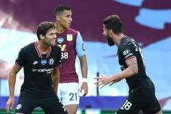 Premier League Aston Villa 1 2 Chelsea Blues Go Five Points Clear In Fourth