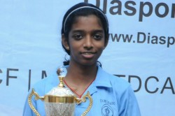 Young Vaishali Enters Semifinals Of Speed Chess Championships