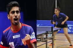 Exclusive Paddlers G Sathiyan Neha Aggarwal Elated With Response To Raise Funds For Table Tennis