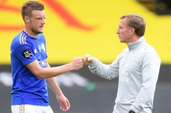 Brendan Rodgers Backs Jamie Vardy Leicester City Goalscoring Form