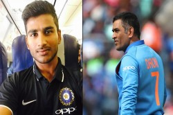 Ms Dhoni S Presence Is Infectious Have Learnt A Lot From Him In Jharkhand Dressing Room Virat Singh