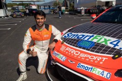 Akhil Rabindra Retained By Aston Martin Racing Driver Academy