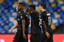Napoli Milan Match Kessie Penalty Salvages Draw Seriea Report
