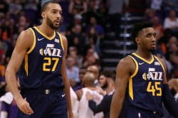 Donovan Mitchell Relationship Utah Jazz Team Mate Rudy Gobert