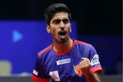 Indian Paddler Sathiyan Signs For Polish Superliga Team