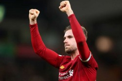 Jordan Henderson Liverpool Footballer Of The Year De Bruyne Van Dijk
