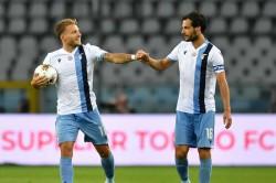 Ciro Immobile Equals Lazio Record Pressure On Juventus Serie A