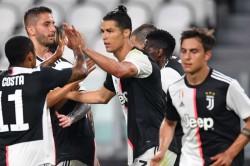 Cristiano Ronaldo Scores Stunning Goal Juventus Beat Genoa Serie A