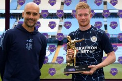 I Had Two Assists Taken Away De Bruyne Thrilled To Share Record With Henry