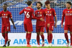 Brighton And Hove Albion Liverpool Salah Double Helps Champions End Away Drought