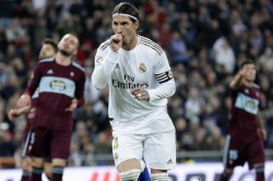 Ramos Nets Late Winner As Real Madrid Edge Close To La Liga Title