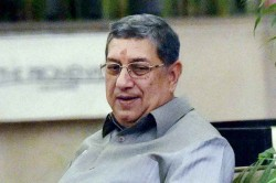 Shashank Manohar S Exit A Great Relief For Indian Cricket N Srinivasan