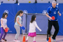 Steve Rowe The Founder Of Aerobic Table Tennis Fitness Programme Aims To Keep India Fit
