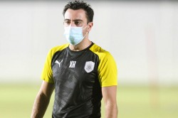 Xavi Back At Al Sadd Training After Recovering From Coronavirus