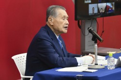 Tokyo Olympics Chief Mori Rules Out Hosting Games Without Fans