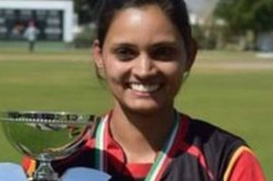 Four Wickets In Four Balls Germany S Anuradha Doddaballapur Enters History Books